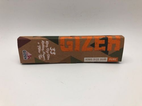 FOITE GIZEH KING SIZE DUO PURE 33+33TIPS