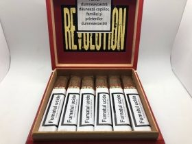 TURRENT REVOLUTION ROBUSTO BOX PRESSED 18