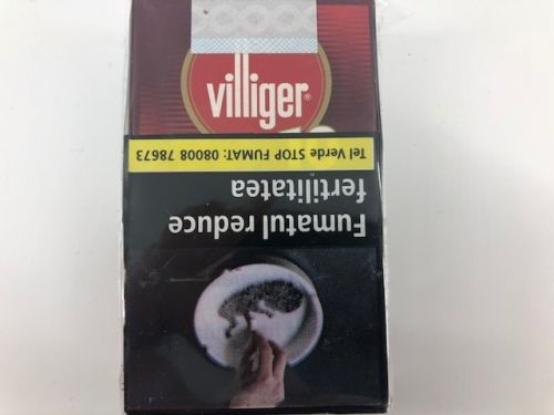 VILLIGER SMALL CIGARS VANILLA FILTER (10)