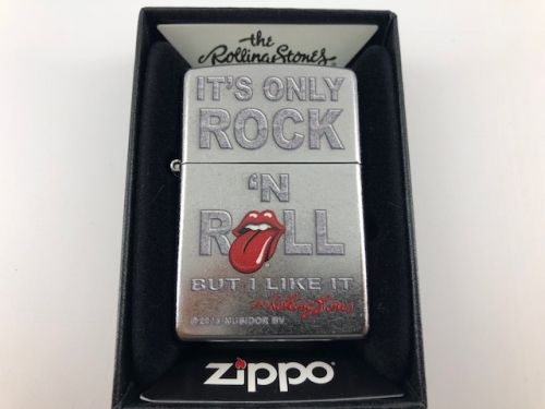 BRICHETA ZIPPO ROLLING STONES IT'S ONLY ROCK