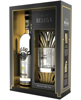VODKA BELUGA NOBLE+PAHAR 0.7L