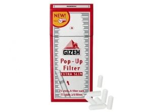 GIZEH EXTRA SLIM POP-UP FILTER 126