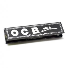 FOITE SLIM BLACK OCB 110 MM