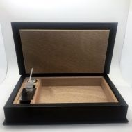 HUMIDOR PU TRAVEL BOOK ANDREAS (5 tig)