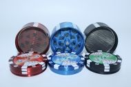 GRINDER METALIC POKER CHIPS
